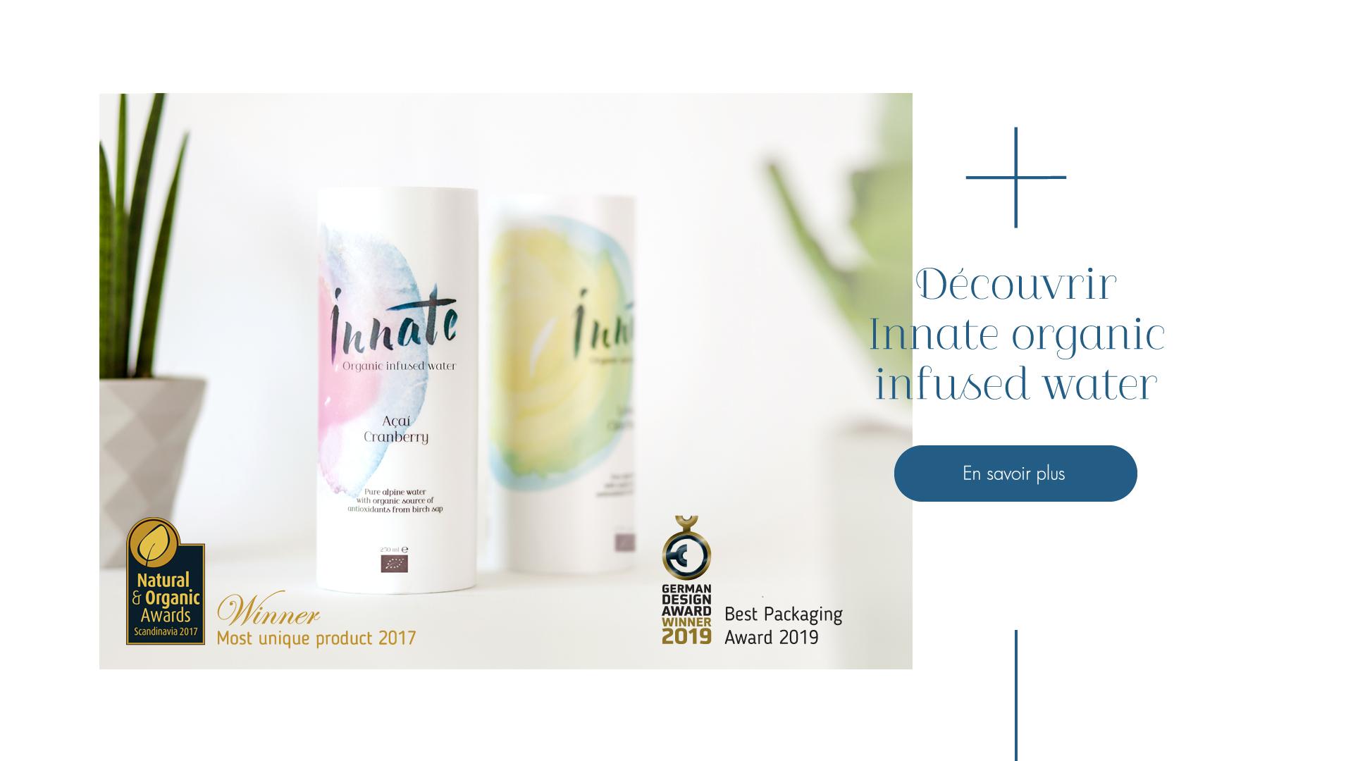 Innate Organic Infused Water